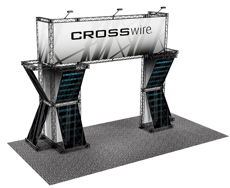 Crosswire trade show 10 x20 image65 crosswire exhibits for Premade trusses